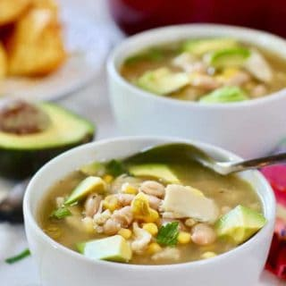 20 Minute White Chicken Chili