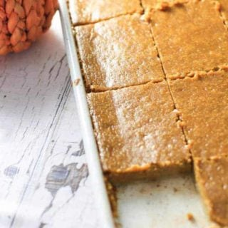 Easy Sheet Pan Pumpkin Pie