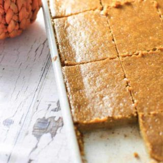 Sheet Pan Pumpkin Pie for a crowd