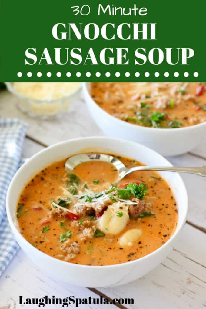 Gnocchi Sausage Soup