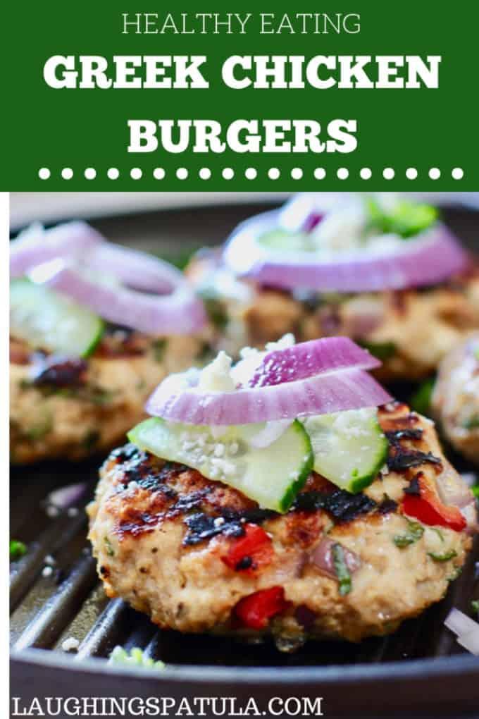 Greek Chicken Burger