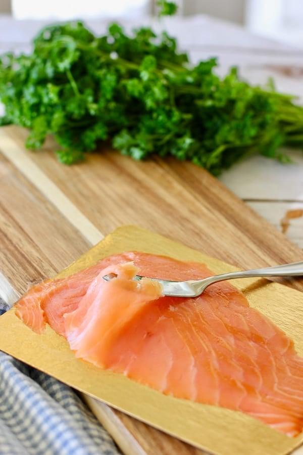 Smoked salmon tutorial on how to use