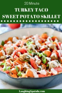 Turkey Sweet Potato Skillet