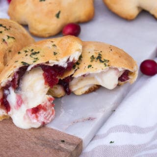 Cranberry Brie Biscuits