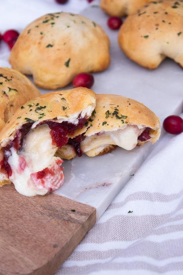Cranberry Brie Biscuits