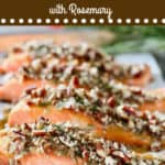 Baked Pecan Crusted Salmon