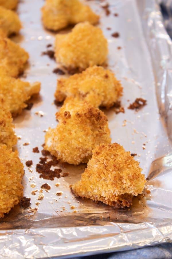 pre baked cauliflower bites