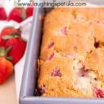 strawberry loaf bread pin