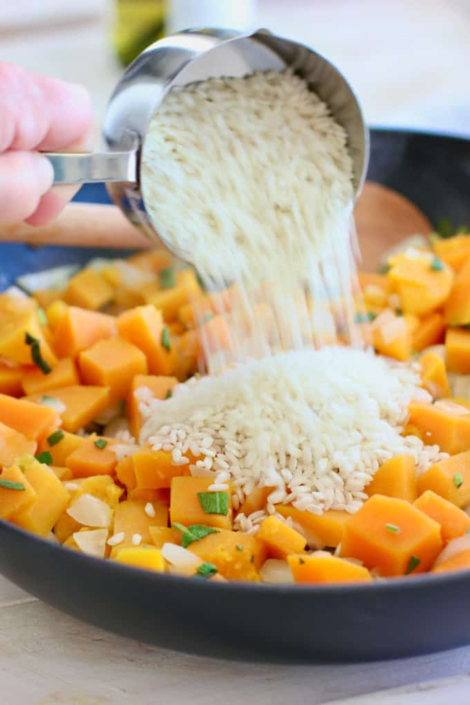 how to make butternut risotto