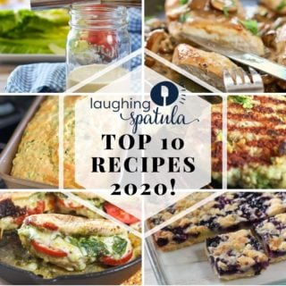 Top 10 for 2020 recipes