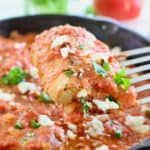 fish in tomato sauce ready to serve