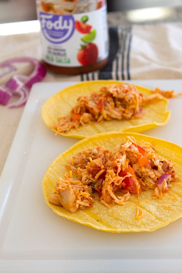 corn tortillas with filling